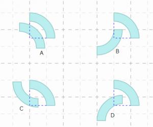 四分環どうしの重なり判定の参考図